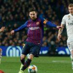 Definida hora oficial para el clásico entre Barcelona y Real Madrid