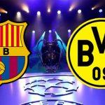 Barcelona busca los octavos de Champions contra Borussia Dortmund