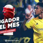 «Choco» Lozano elegido mejor jugador de la segunda división española en octubre