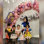 Cristiano Ronaldo y Georgina festejan el segundo cumpleaños de su hija