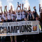 Douglas Martínez se corona campeón con el Real Monarch en la USL de Estados Unidos