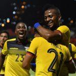 Ecuador golea 3-0 a Trinidad y Tobago en amistoso