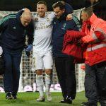 Hazard se retira lesionado y deja «preocupado» a Zidane