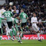 Amargo empate 0-0 del Real Madrid ante Betis