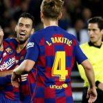 Hat-trick de Messi para celebrar su Balón de Oro en la manita del Barcelona al Mallorca