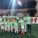 Emilio Izaguirre inaugura escuela de fútbol del Celtic de Escocia en Honduras