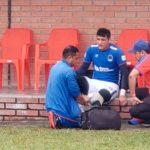 Portero Harold Fonseca abandona el entrenamiento de Olimpia