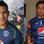 Óscar Salas y Carlos Sánchez, los primeros futbolistas separados de Motagua