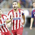 Atlético de Madrid vence al Barcelona y pasa a la final de la Supercopa