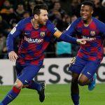Messi salva el debut de Setien y el Barcelona vuelve al liderato