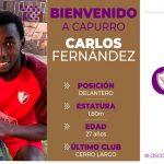 Hondureño Carlos Fernández cambia de equipo en Uruguay