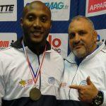 Kevin Mejía logra bronce en el Grand Prix de Francia