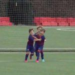 El gol de Thiago Messi con la camiseta del Barcelona que se hizo viral