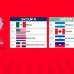 Sub-23 de Honduras conoce rivales en el Preolímpico de Concacaf