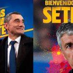 OFICIAL: Valverde fuera del Barcelona y llega Quique Sentien