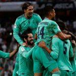 Real Madrid le gana al Valencia y es finalista de la Supercopa de España