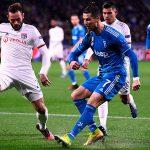 Lyon derrota a la Juventus de Cristiano Ronaldo en Champions League
