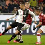 Copa de Italia: Cristiano Ronaldo salva a la Juventus de la derrota ante el Milan en el último minuto
