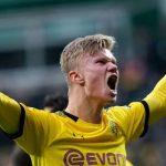 Haaland sigue enrachado y anotó en el triunfo de Dortmund