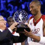 Trofeo de MVP del Juego de las Estrellas llevará el nombre de Kobe Bryant
