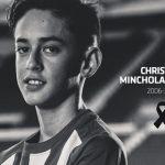 Murió Christian Minchola, promesa del Atlético de Madrid