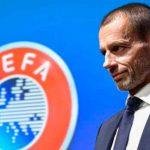 La UEFA convoca a reunión el miércoles para debatir nuevo calendario