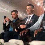 Cristiano Ronaldo presente en el Santiago Bernabéu para apoyar al Real Madrid
