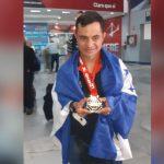 Guillermo Erazo Jr. regresa a Honduras tras lograr un nuevo récord en el Máster Junior de Taekwondo