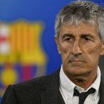 Setién ve «lógico» que el Barcelona sea campeón si se cancela la Liga