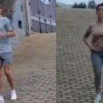 Así entrenan Cristiano Ronaldo y Georgina: «¡El pato y la gacela!»