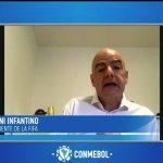 Gianni Infantino ante la Conmebol: «Ningún partido vale una vida»