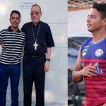 Exmundialista hondureño Gabriel Castro será sacerdote