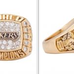 Subastan anillo de campeonato de Kobe Bryant por 206 mil dólares