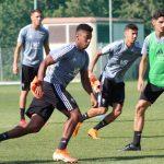 El Cádiz CF de Anthony Lozano retoma la fase tres de los entrenamientos