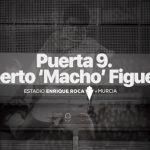 Puerta 9 del estadio del Real Murcia pasa a llamarse Roberto «Macho» Figueroa