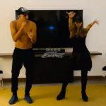 El particular entrenamiento de Keylor Navas, bailando con su esposa (VÍDEO)