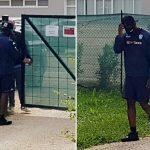 Mario Balotelli intenta volver a entrenar pero el Brescia no se lo permite