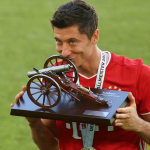 Lewandowski, máximo goleador de la Bundesliga por quinta vez