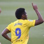 Lozano anota en el empate del Cádiz ante el Alcorcón