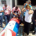 Sepultan restos de Roberto «Macho» Figueroa en La Ceiba