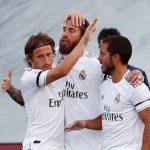 Real Madrid vence 3-1 al Eibar y recorta distancia del Barcelona
