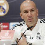 Zidane cumple 200 partidos con el Real Madrid: «Será el más extraño»