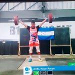Axel Pavón queda en cuarto lugar en la Copa Panamericana virtual de Halterofilia