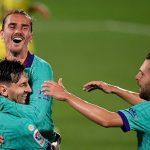 Barcelona golea al Villarreal y se mantiene en la pelea por el título con el Real Madrid
