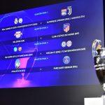 Listos los cruces de cuartos y semis de la Liga de Campeones