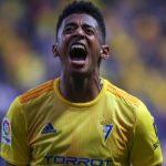 El Cadiz de Anthony Lozano asciende a la Liga de España