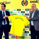 Unai Emery:  «Los sueños son libres y sueño con un título con el Villarreal»