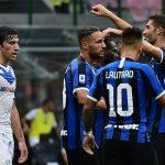 Inter arrolla al colista Brescia