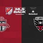 La MLS pospone el juego Toronto-DC United por un positivo de coronavirus