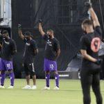 Jugadores protestan contra el racismo en arranque del torneo «MLS is Back»